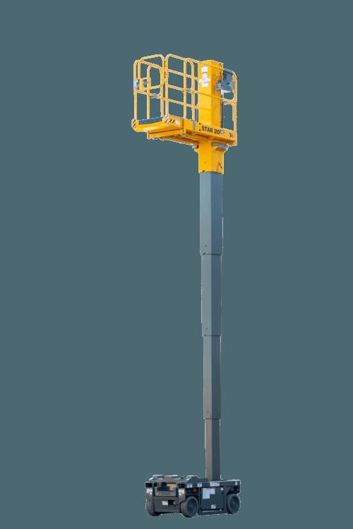 bis 6m Vertikalmastbühnen mieten in Ettlingen