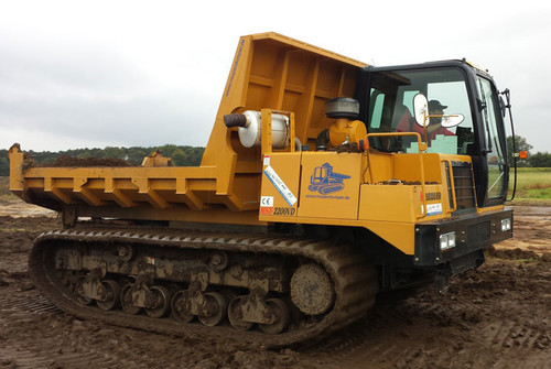 10t - 12t Kettendumper mieten in Willich