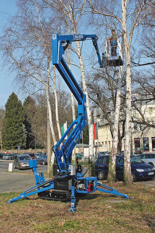 14m bis 16m Raupen-Arbeitsbühne elektro mieten