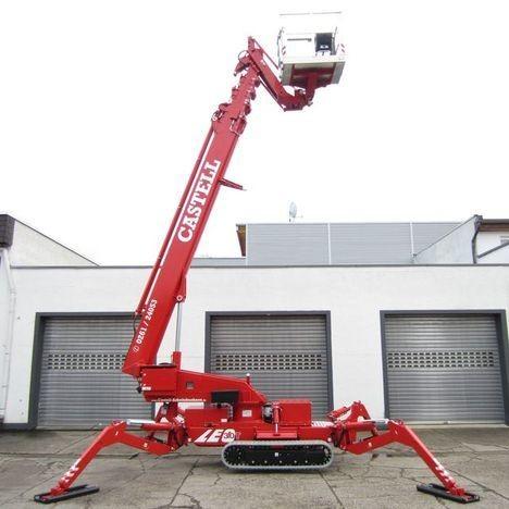 30m bis 36m Raupen-Arbeitsbühne elektro mieten