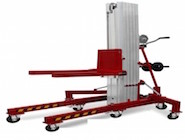 Materiallift 0-100kg Nutzlast mieten