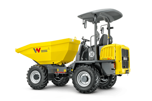 5t - 6t Raddumper mieten in Petershagen