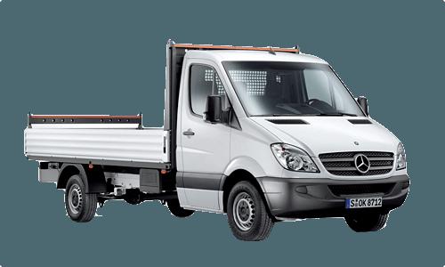 Pritschenwagen Einzelkabine offene Ladefläche mieten in München