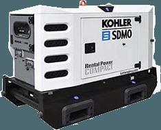 rent 20 - 30 kVA Stromerzeuger in Duisburg