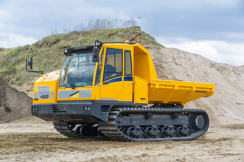 12t - 14t Kettendumper mieten in Willich