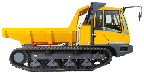 8t - 10t Kettendumper mieten in Willich