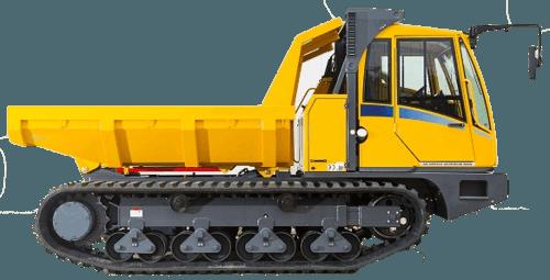 8t - 10t Kettendumper mieten in Stuttgart