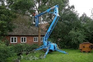 40m bis 46m Raupen-Arbeitsbühne elektro mieten