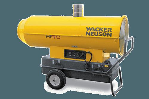 25 – 35 kW Öl- oder Dieselheizer mieten in Herzogenrath