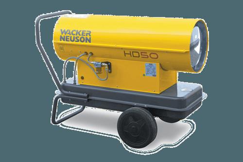 35 – 50 kW Öl- oder Dieselheizer mieten in Herzogenrath