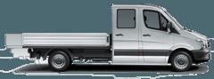 Pritschenwagen Doppelkabine offene Ladefläche mieten in Herzogenrath