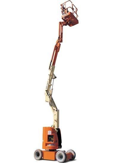10m bis 10.9m Gelenkteleskopbühne Elektro mieten