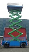 21m bis 22m Scherenarbeitsbühnen Diesel mieten in Wuppertal