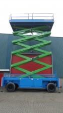 25m bis 27m Scherenarbeitsbühnen Diesel mieten in Halle