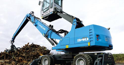 Umschlagmaschine 12m - 13m diesel mieten