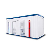 Sanitärcontainer 10' WC mieten in Bremen