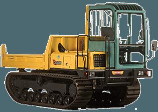 4.5t - 6t Kettendumper mieten in Saarlouis
