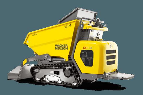 1t - 1.5t Kettendumper mieten in Saarlouis