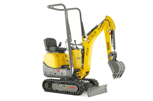 rent 0.7t - 1.1t Minibagger in Hannover