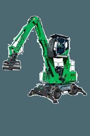 Umschlagmaschine 7m - 9m diesel mieten