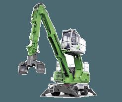 Umschlagmaschine 9m - 11m diesel mieten