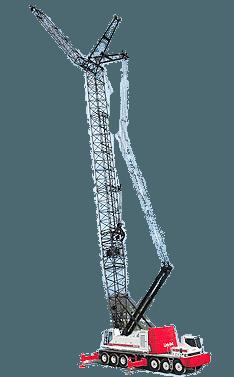 Gittermast-Mobilkran mieten in Siegen