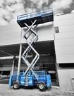 Genie GS3384RT-Scherenarbeitsbühnen Diesel