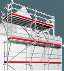 Fassadengerüste mieten