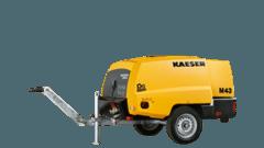2 - 5 m³/min Baukompressor mieten