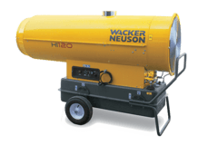 100 – 150 kW Ölheizer mieten