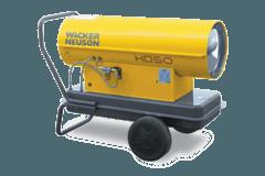 35 – 50 kW Öl- oder Dieselheizer mieten