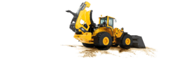 Baggerlader 50kW - 60kW mieten